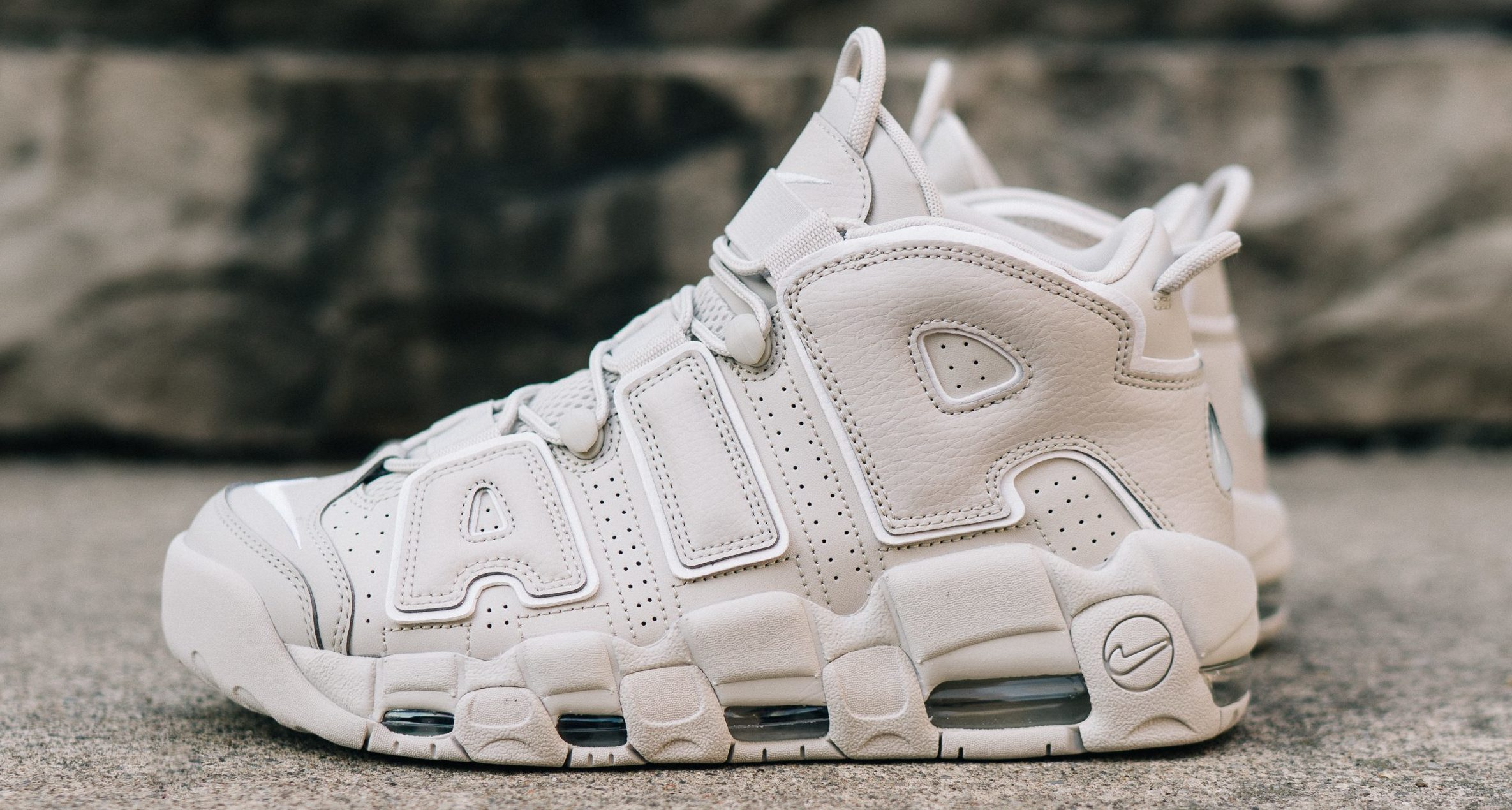 edeb8286f5 Nike Air More Uptempo '96 Light Bone // Available Now
