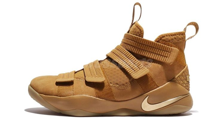 "Nike LeBron Soldier 11 ""Wheat"""