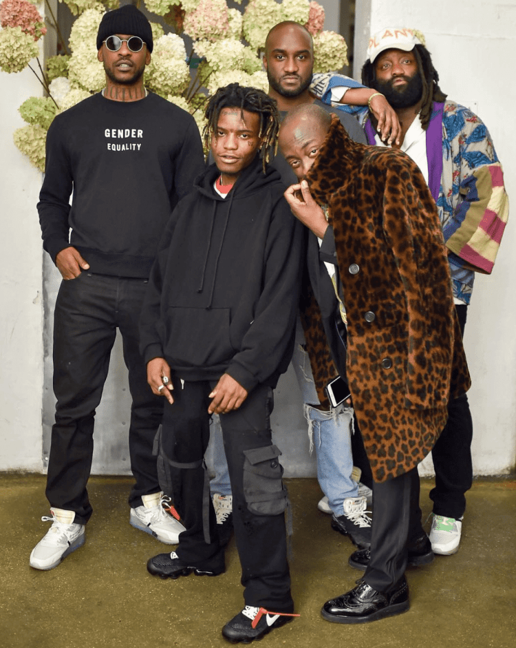 45fd40be4a1 ... Off-White x Nike Blazer Skepta in Nike The 10 Air Max 90   Ian Connor in  the Nike The 10