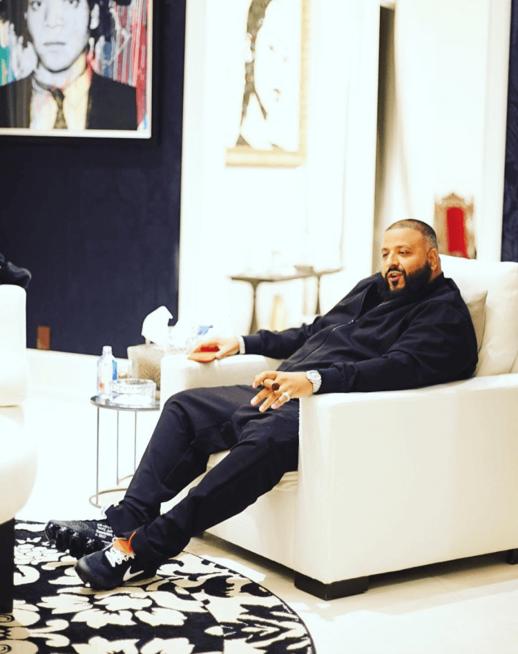 """DJ Khaled in the The 10 """" Air Vapormax """""""