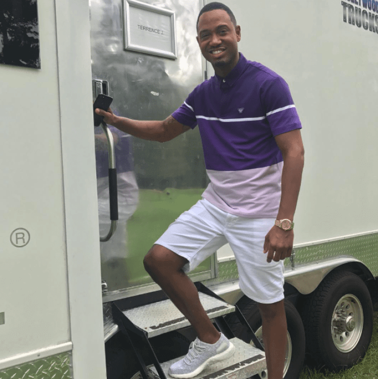 Terrence J in the adidas PureBOOST