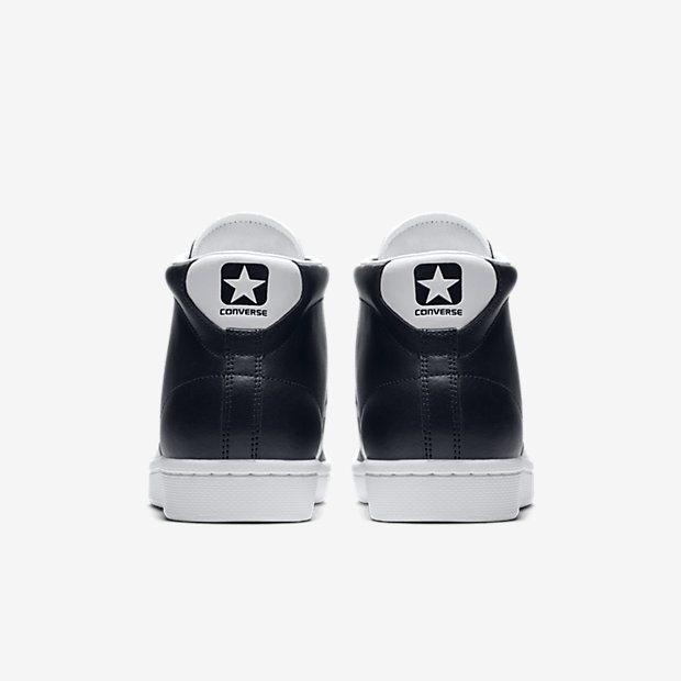 Converse Pro Leather Black/White