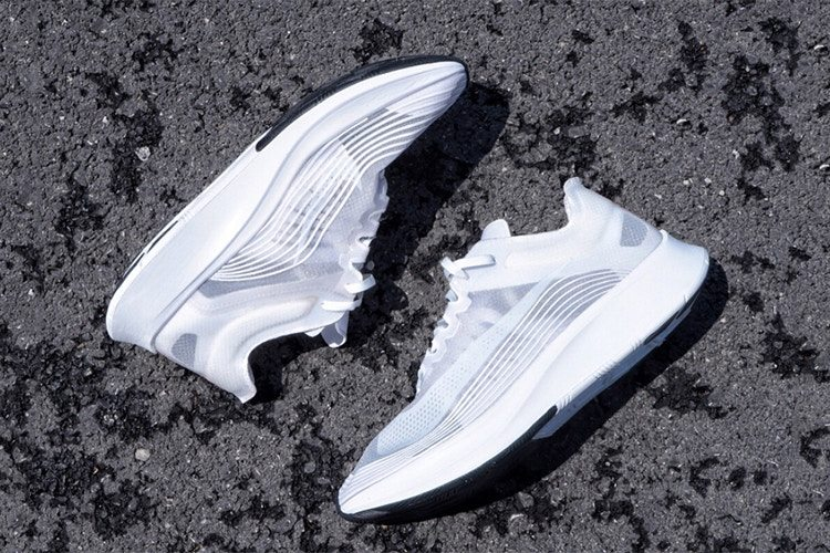 "Nike Zoom Fly SP ""Triple White"""