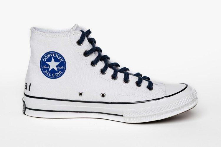 61bf355dd6eb ... sacai x fragment design Converse Chuck Taylor All Star ...