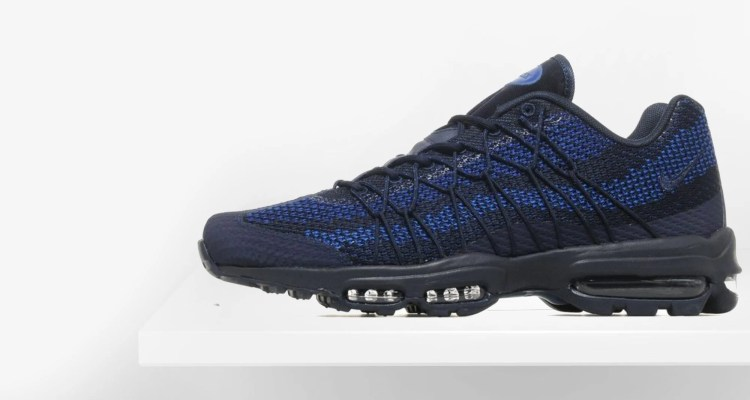 """new product 49f84 5045e ... Nike Air Max 95 Ultra Jacquard """"Blue"""" Available Now ..."""
