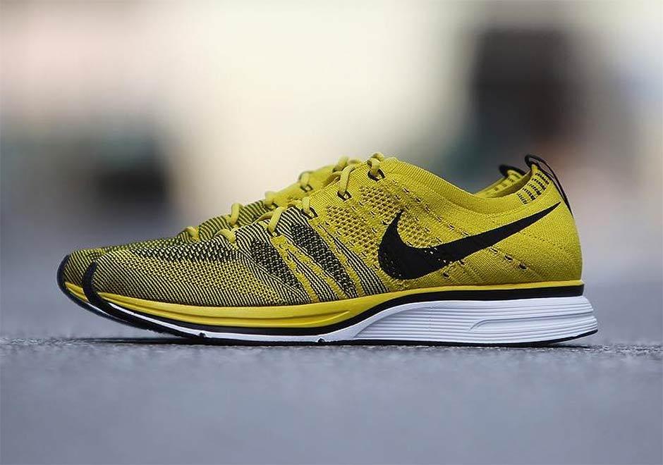 "6b7c955ab5dc4 ... Nike Flyknit Trainer ""Bright Citron"" ."