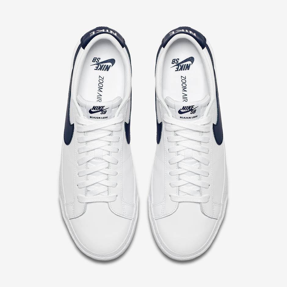 size 7 footwear 50% price Nike SB Blazer Low White/Obsidian // Preview | Nice Kicks