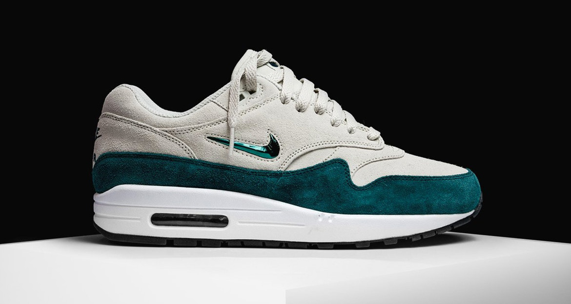"""new style 2fce9 c1ed9 Nike Air Max 1 Jewel """"Atomic Teal""""    Available Now"""
