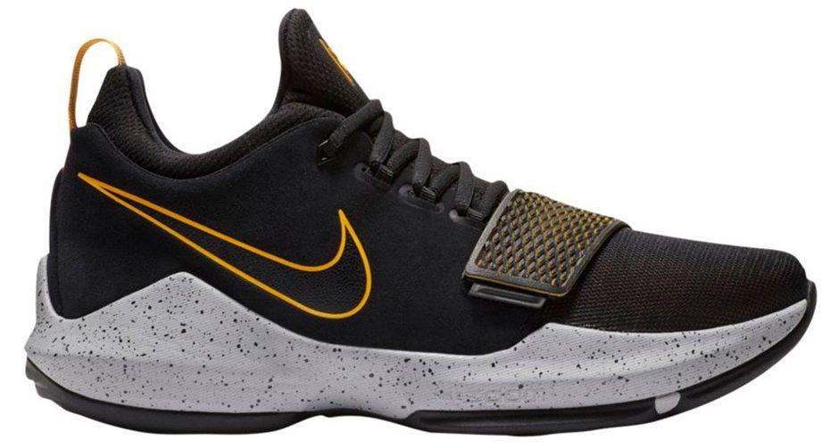 84310da86 Nike PG1 Black Gold    Release Date