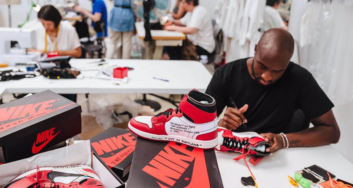 "f6fc2496f1fb Opinion    In Defense of Virgil Abloh s Off-White Air Jordan 1 Being Named  ""Shoe Of The Year"""