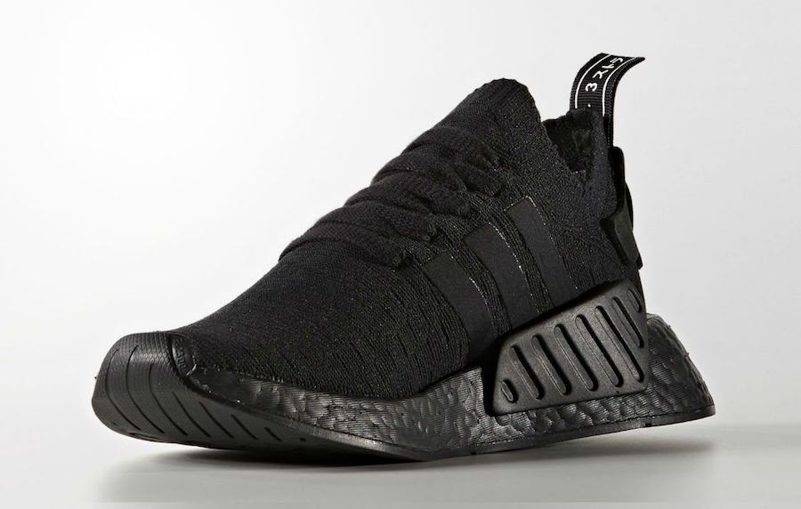 """adidas NMD R2 PK """"Triple Black"""""""