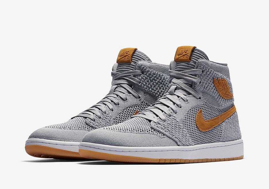 "Air Jordan 1 Flyknit ""Wolf Grey"""