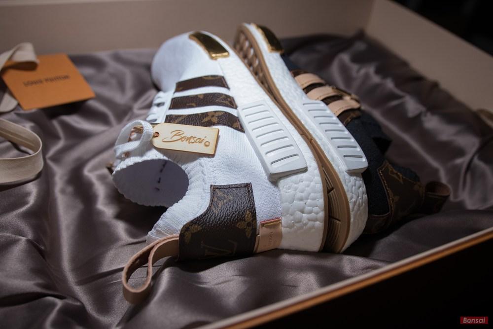 3aacf6173 Sneakersnbonsai Customkicks. 1.2K subscribers. Subscribe · Making of -  (FULL VERSION) Adidas NMD x Louis Vuitton 1of1 Customs for Craig David