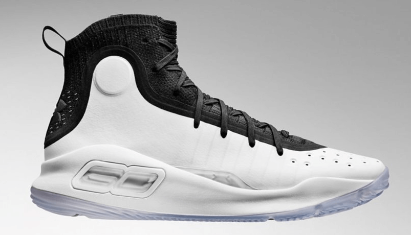 Under Armour Curry 4 White/Black