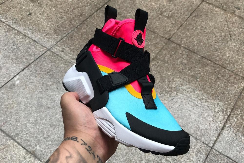 Nike's New Shoe Blends Air Huarache and Air Raid DNA