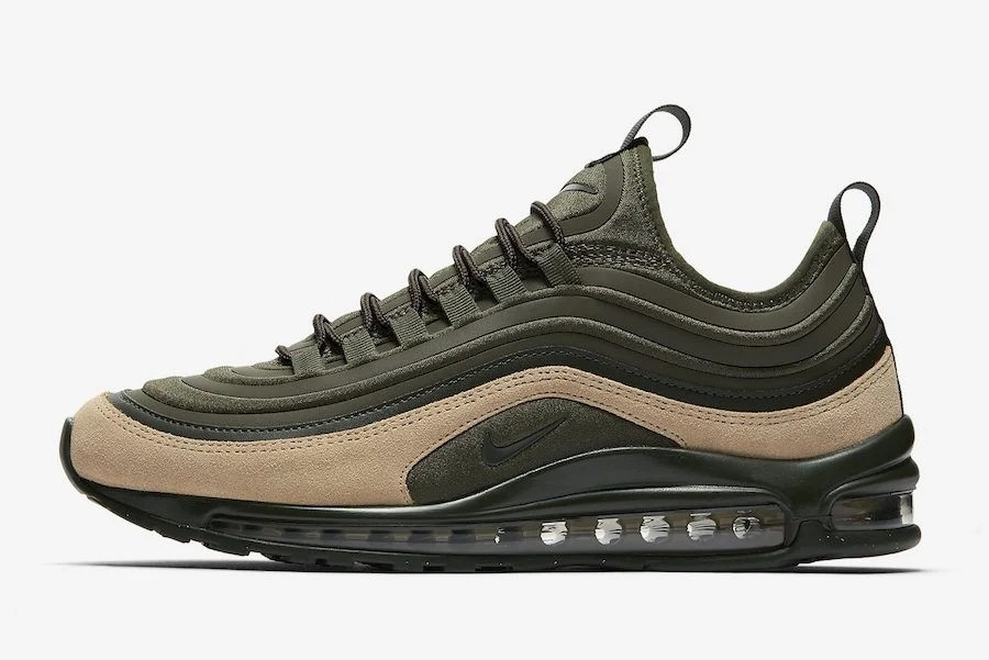 official photos aa6f4 88d2e Nike Air Max 97 Ultra SE Cargo KhakiMushroom ...