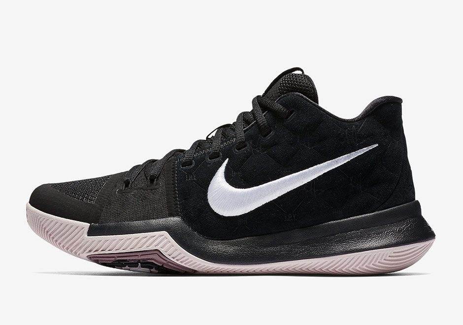 17050fe0bab Nike Kyrie 3 Goes Lifestyle with Black Suede