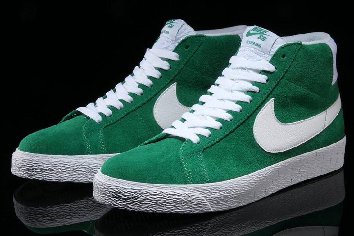 "Nike SB Blazer Mid ""Pine Green"""