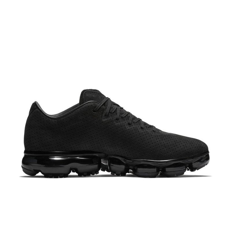 "Nike Air VaporMax Suede ""Triple Black"" Nike Air VaporMax Leather"