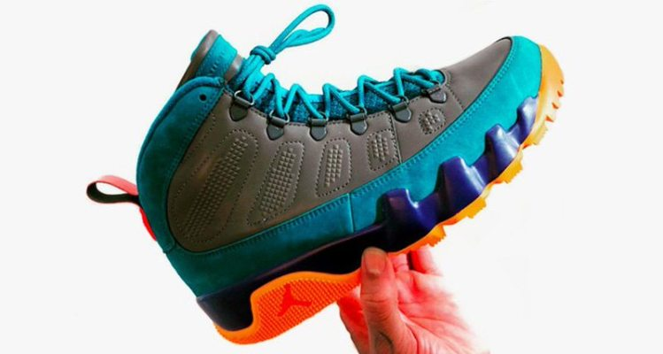 "Air Jordan 9 NRG Boot ""Multicolor"""