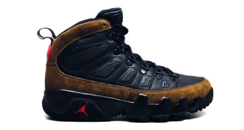 """Air Jordan 9 """"Olive"""" Boot"""