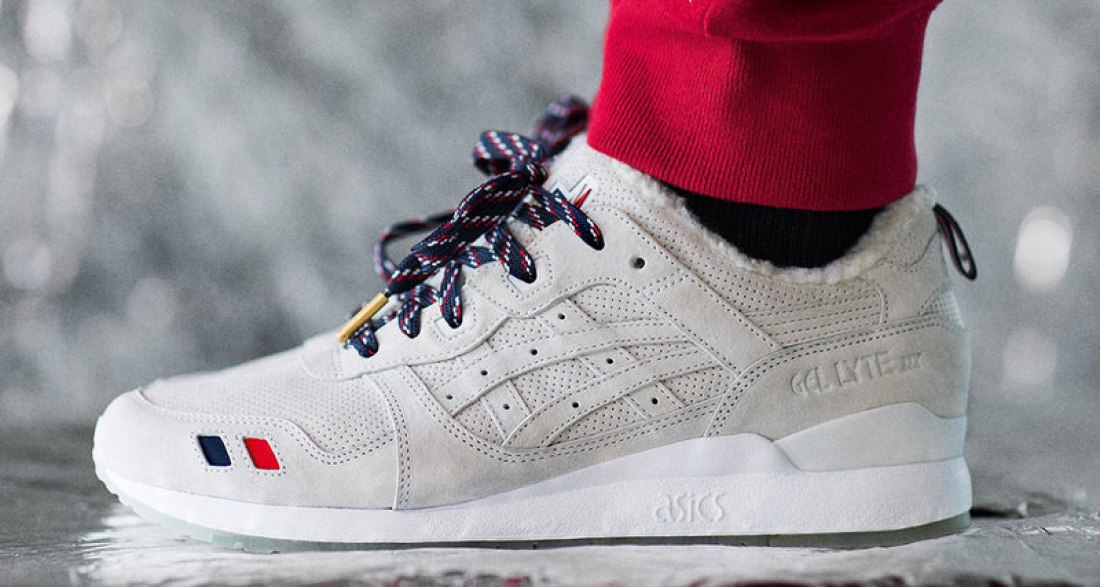 quality design bcd8e ecdd1 Moncler x Kith x ASICS Gel Lyte III Collaboration Will ...