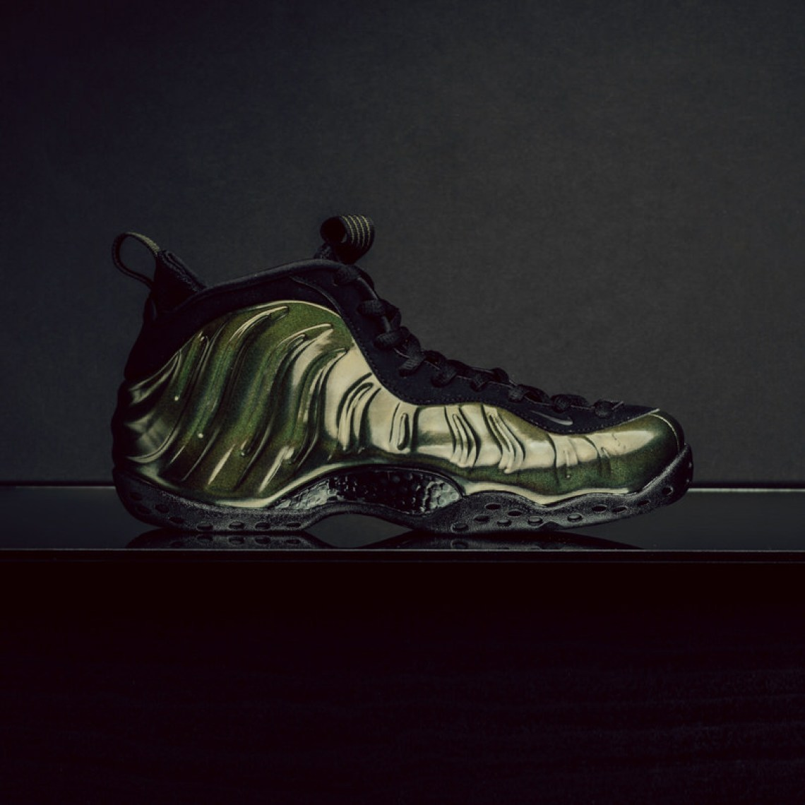 Nike Air Foamposite One Legion Green Available Now Nice Kicks