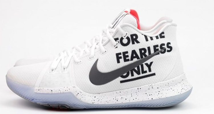 "Nike Kyrie 3 ""For The Fearless Only"""