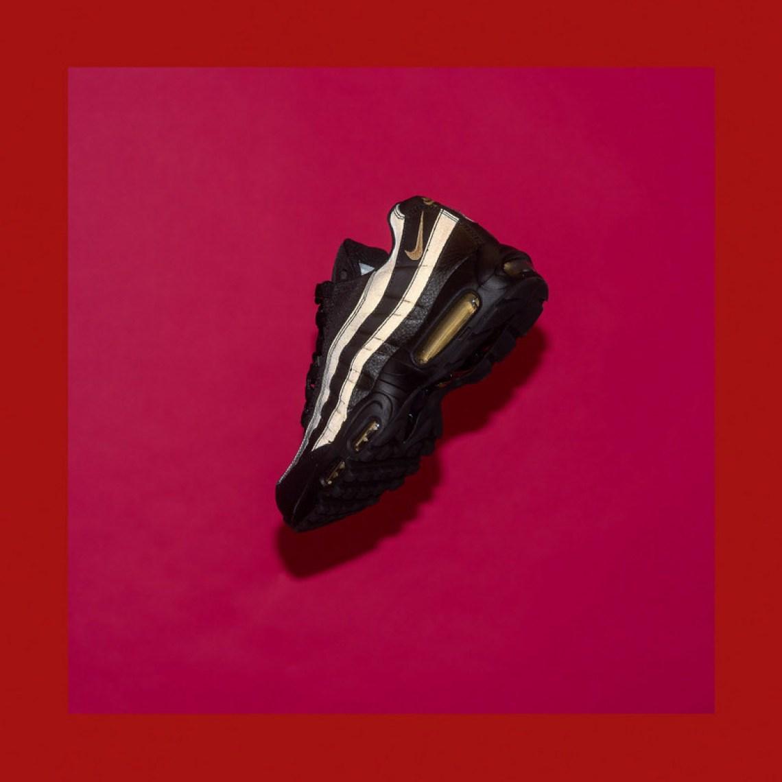 Nike Air Max 95 Premium SE Black Metallic Gold    Available Now ... 079865819