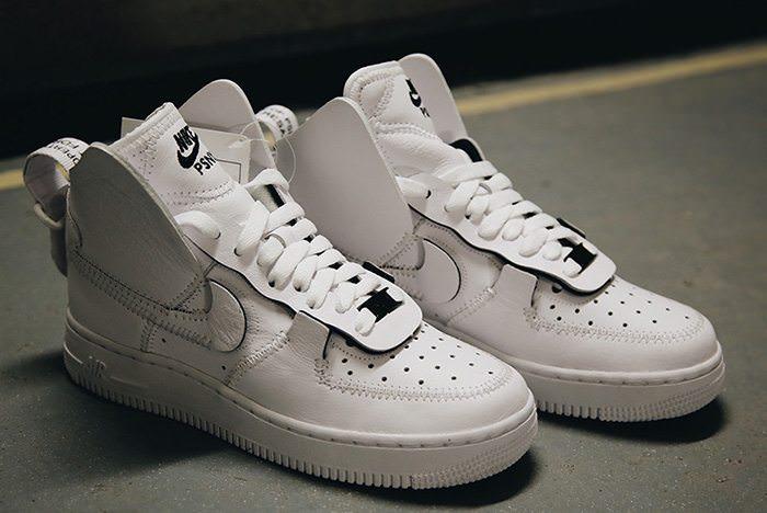 Nike Air Force 1 Faible Blanc Brun & Osborn