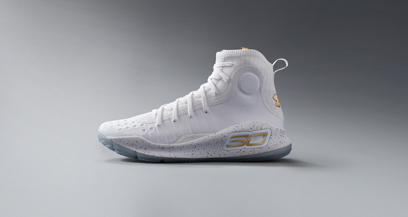 9e284ebd1fc6 Steph Curry Drops Season-High in Upcoming Under Armour Curry 4 White Gold