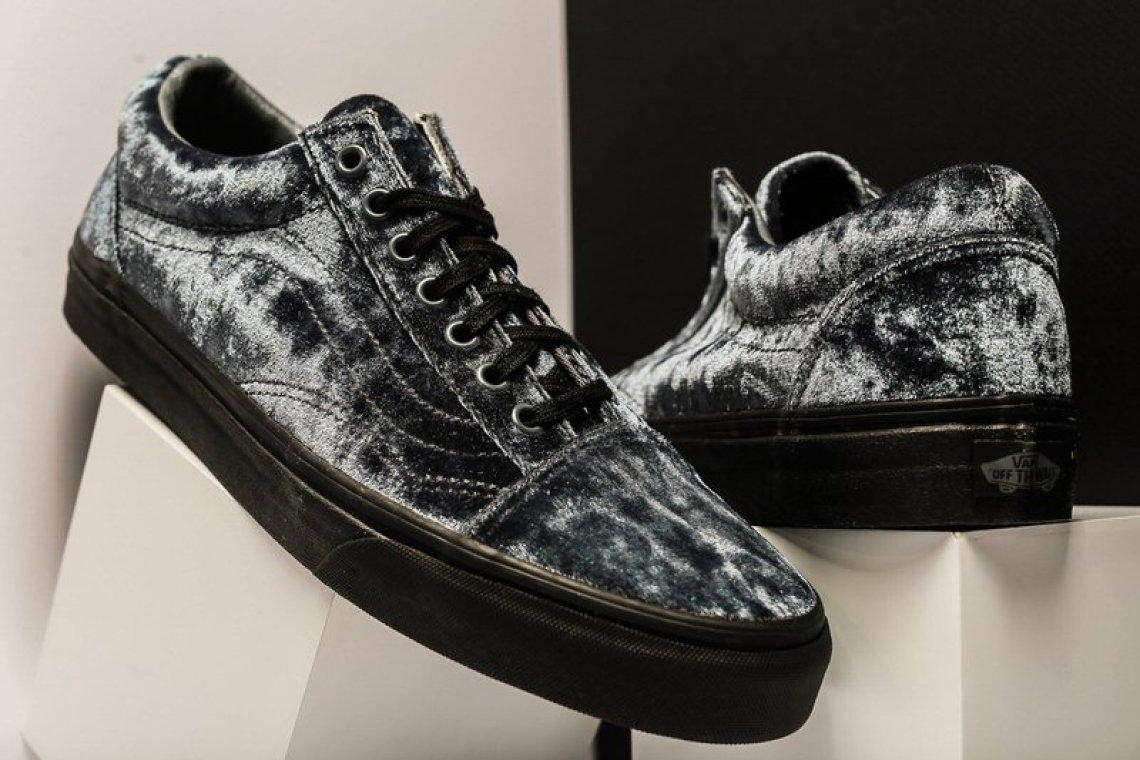 Vans Old Skool Velvet Grey/Black