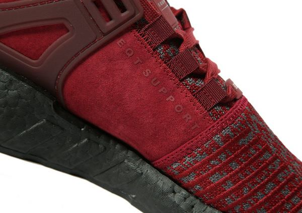 "adidas EQT Support 93/17 ""Burgundy Suede"""