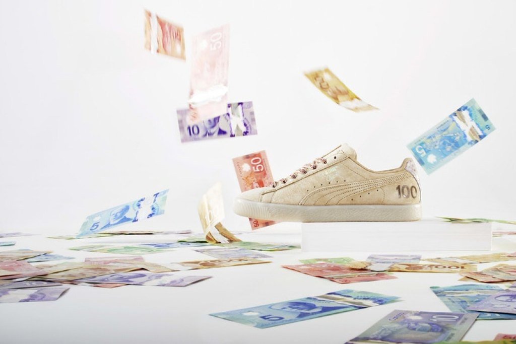 "PUMA Clyde ""Canadian Money"" Pack"