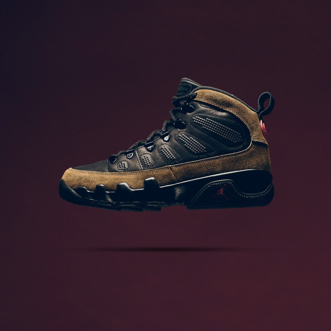 "best website 25ad0 801bb Air Jordan 9 Retro Boot NRG ""Black/Olive"" // First Look"