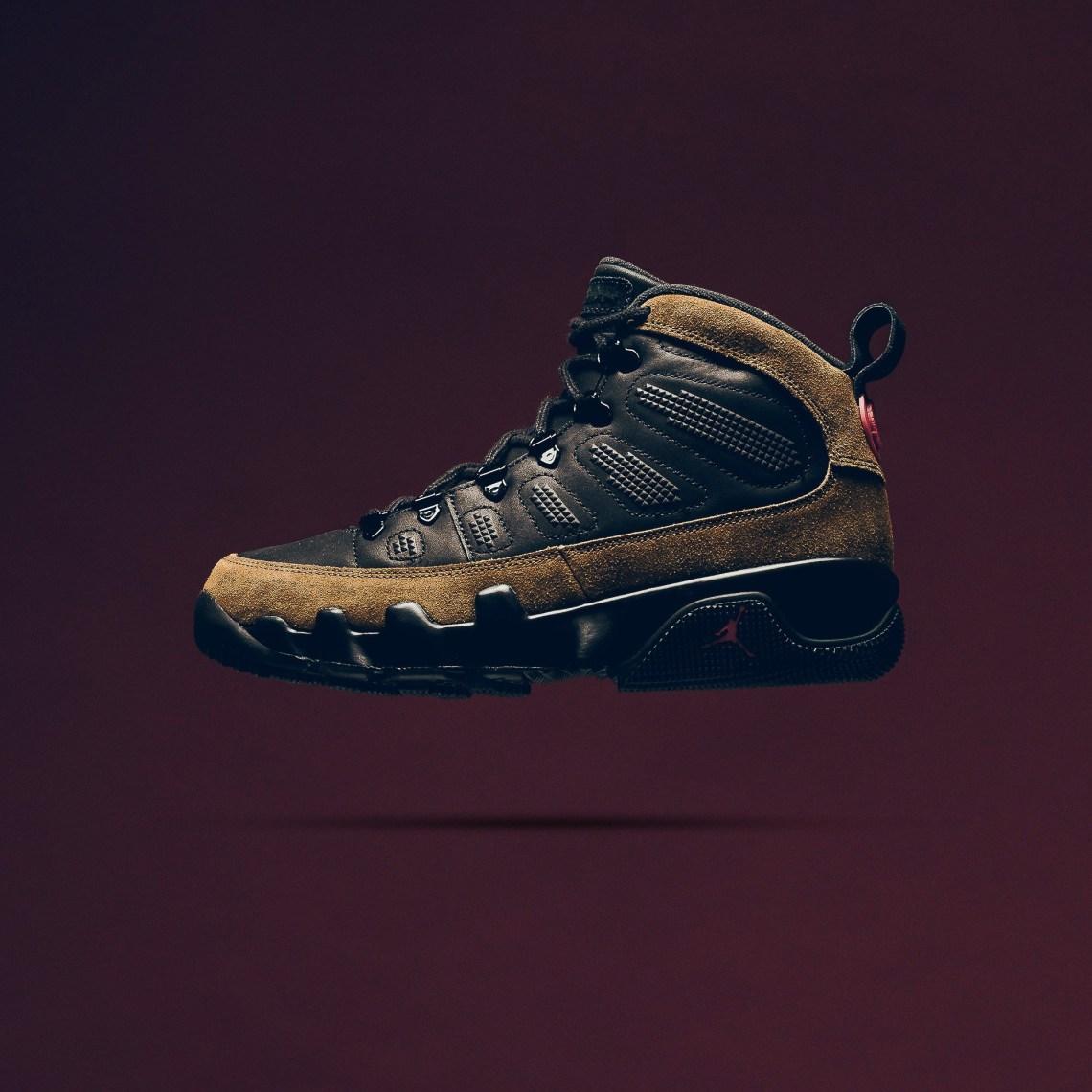 "Air Jordan 9 Retro Boot NRG ""Black/Olive"""