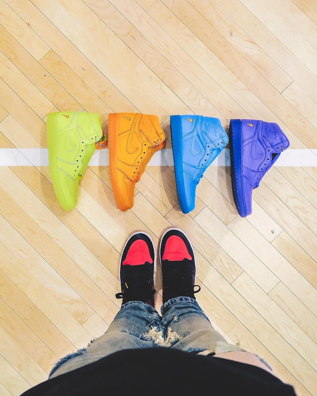 info for 0a87b e7786 Gatorade x Air Jordan 1 Collection Releases Early at Foot ...