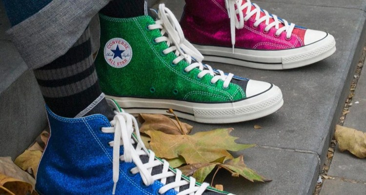 "J.W. Anderson x Converse ""Glitter Gutter"" Collection"