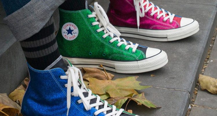 """J.W. Anderson x Converse """"Glitter Gutter"""" Collection"""