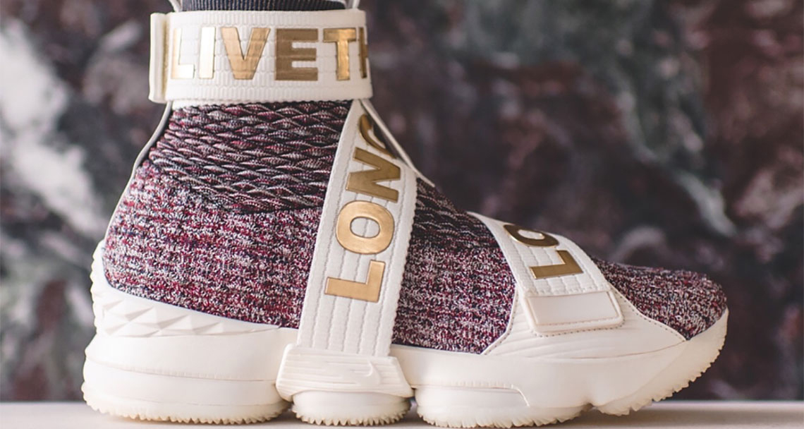 new product 945aa 4d4a7 KITH x Nike LeBron 15 Lifestyle Comes in Three Options