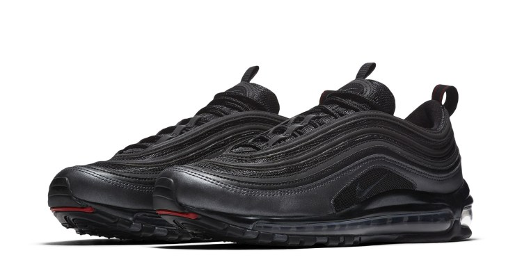 new products e12ec 7508b Nike Air Max 97 Black University Red