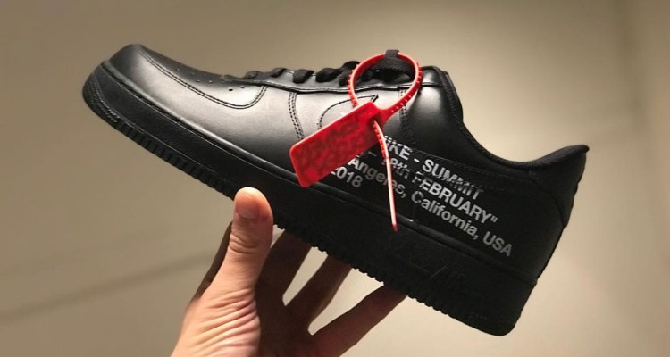a9e3628bc93e70 Nike Sends Out Custom OFF WHITE x Nike Air Force 1 Low Invitation for T32  Summit