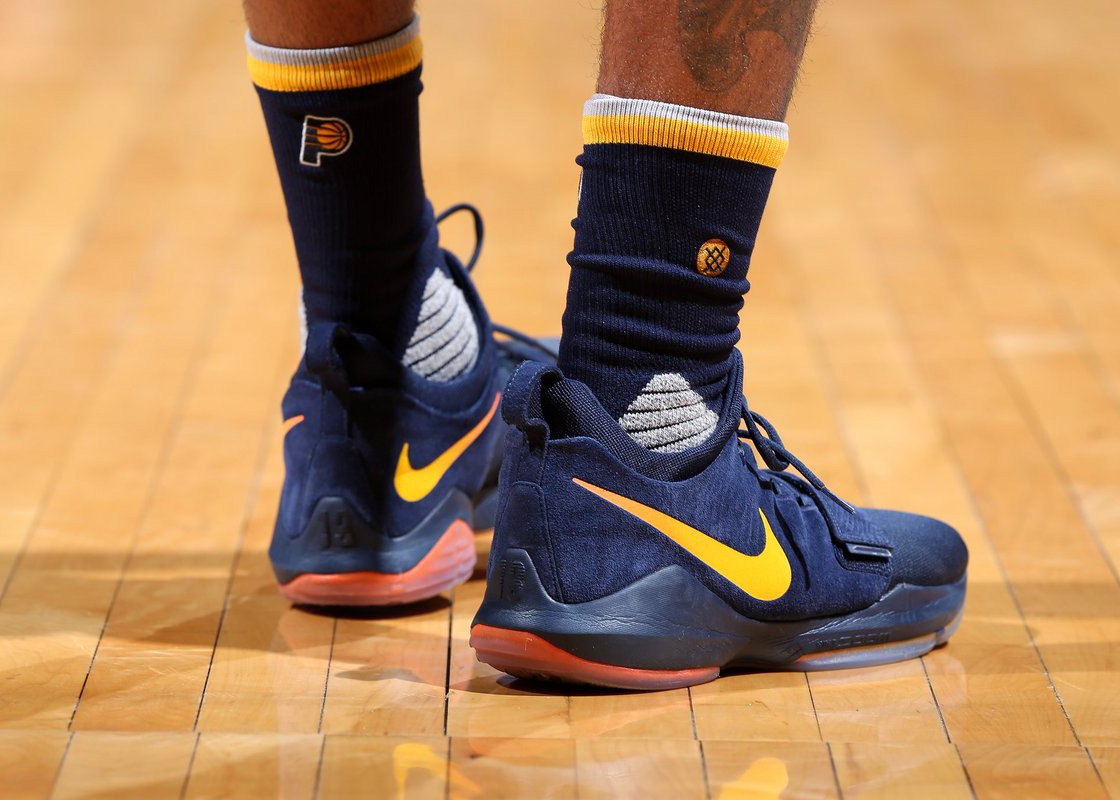 on sale 08395 9be66 2017 has been a busy year for Paul George. He became an All-Star for the  fourth time and helped lead the Pacers to their second straight playoff  appearance.