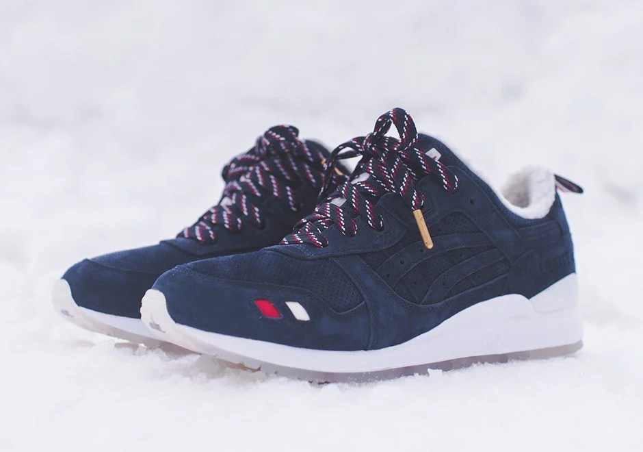reputable site c718b b706c KITH x Moncler x ASICS Gel Lyte III Collection Lands This ...