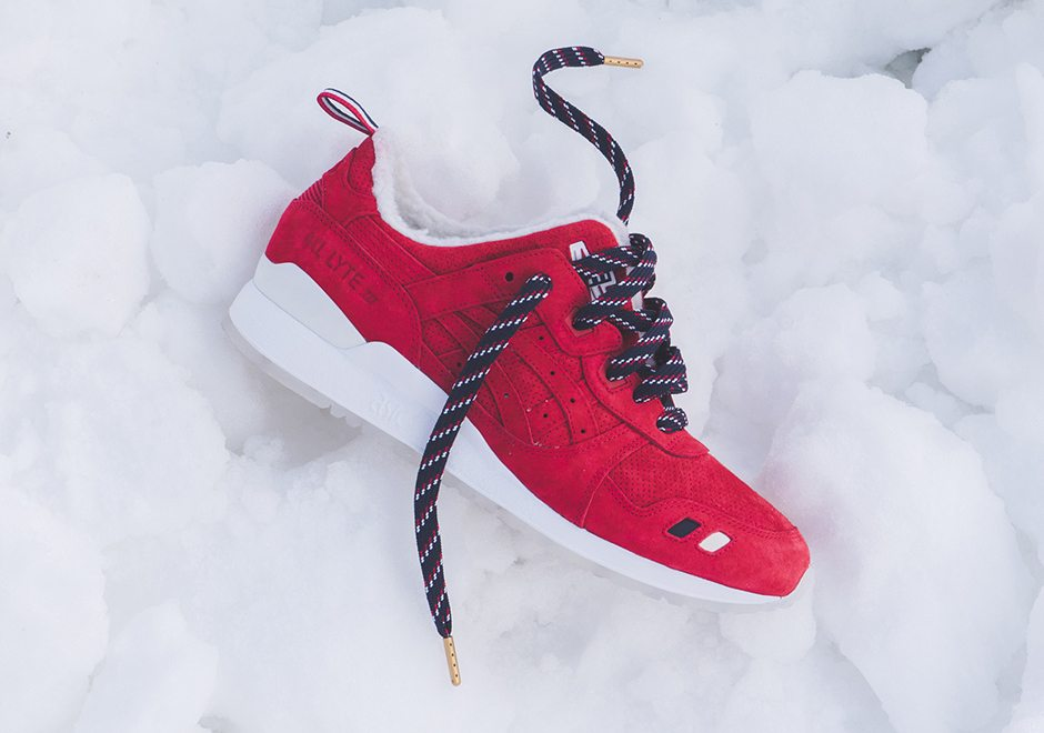 KITH x Moncler x ASICS Gel Lyte III Collection