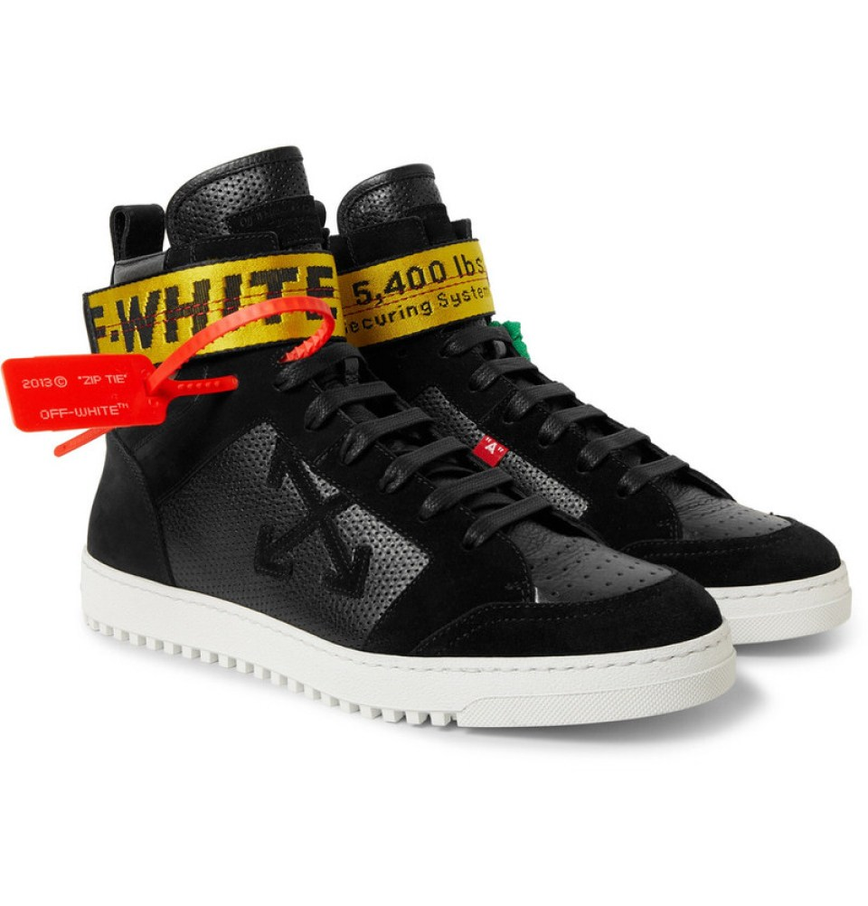 OFF-WHITE High-Top Sneakers