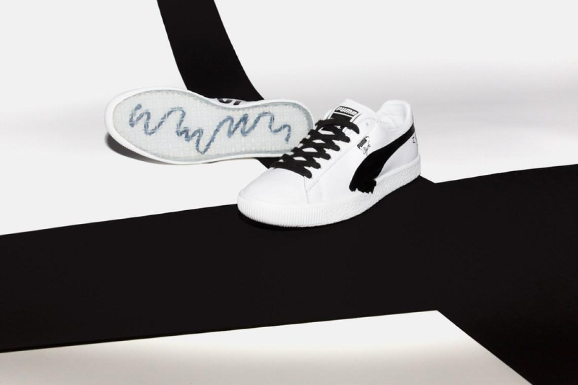 Shantell Martin x Puma Clyde