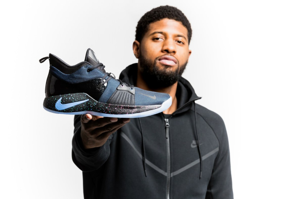 Interview // Designer Tony Hardman Details Paul George's New Nike PG2