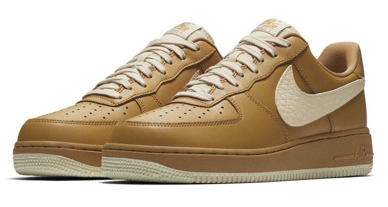 Nike Air Force Tan 1 Bajo Tan Force Nice Kicks c5182f