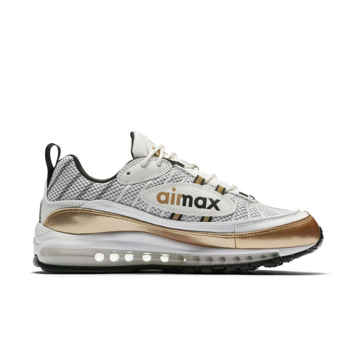 Nike Air Max 98 UK White/Gold